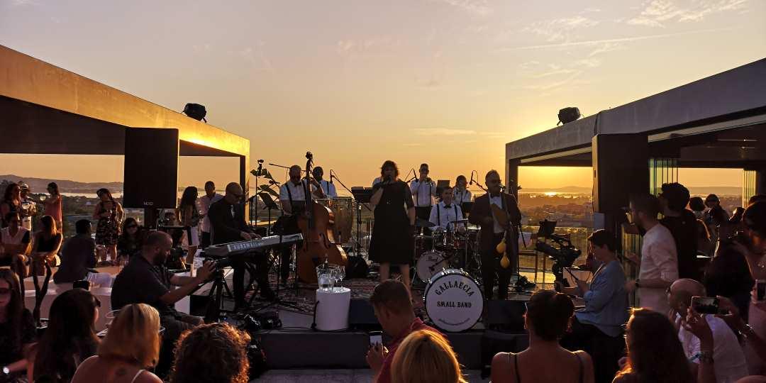 gallaecia small band en bodegas martin codax_música para eventos en galicia